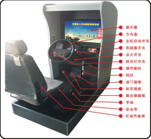 ATE-9021型 汽车驾驶模拟器