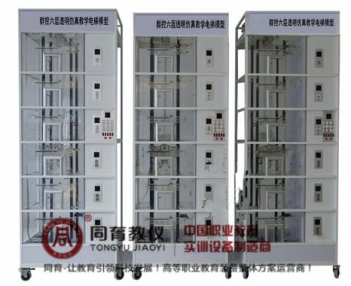 BAE-1033型 群控六层透明仿真教学电梯模型