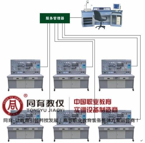 ETED-7080型 网络化智能型维修电工电气控制技能实训智能考核装置