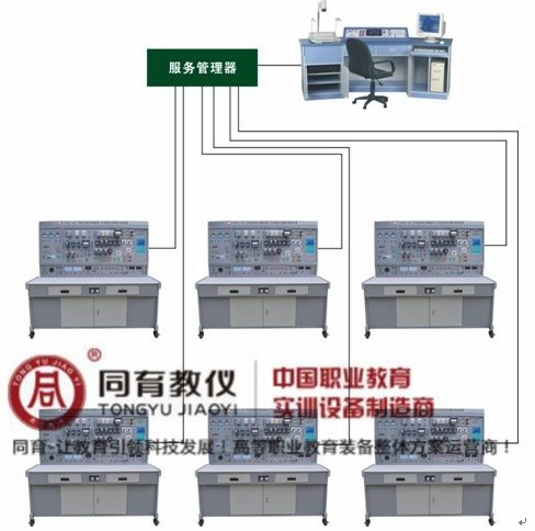 ETED-7081型 网络化智能型维修电工及技能实训智能考核装置