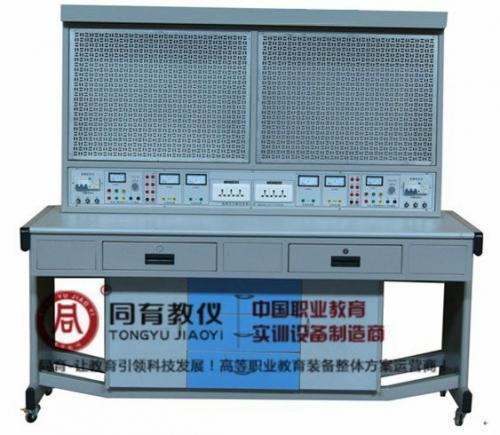 ETED-7095型 电工实训考核装置(单面双组、网孔板型)