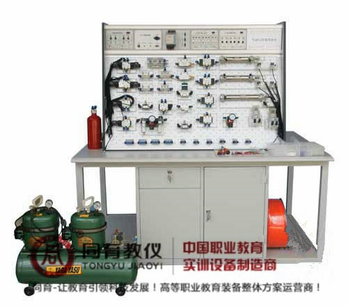 ITPT-4006型 插孔式铁桌气动PLC控制实验台